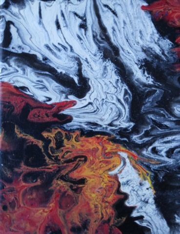 Pintura Acrílica Fluida