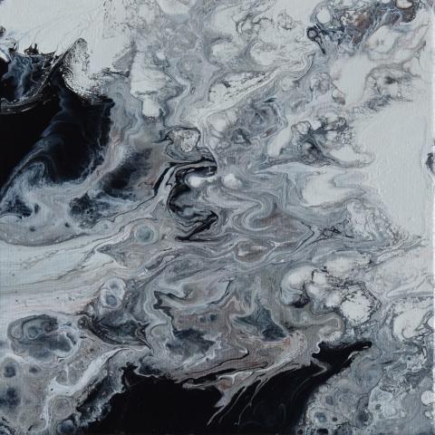 Loose 23 | Pintura Acrílica Fluida, Abstracta Y Conceptual