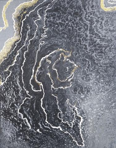 Flor 24 | Pintura Acrílica Fluida, Abstracta Y Conceptual