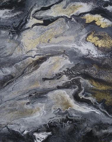 Fun 26 | Pintura Acrílica Fluida, Abstracta Y Conceptual