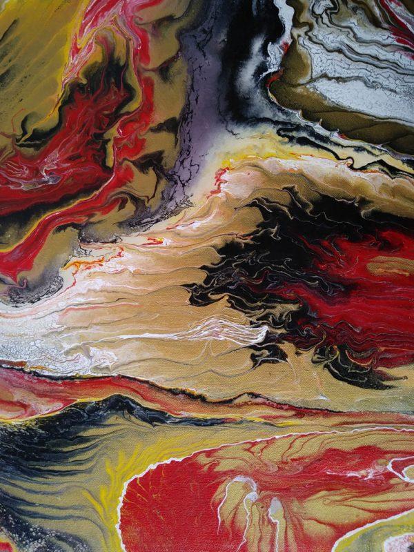 37 Ruth L   Pintura Acrílica Fluida, Abstracta Y Conceptual