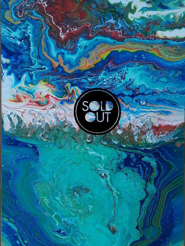 70 Mayra 1 Lake | Pintura Acrílica Fluida, Abstracta Y Conceptual