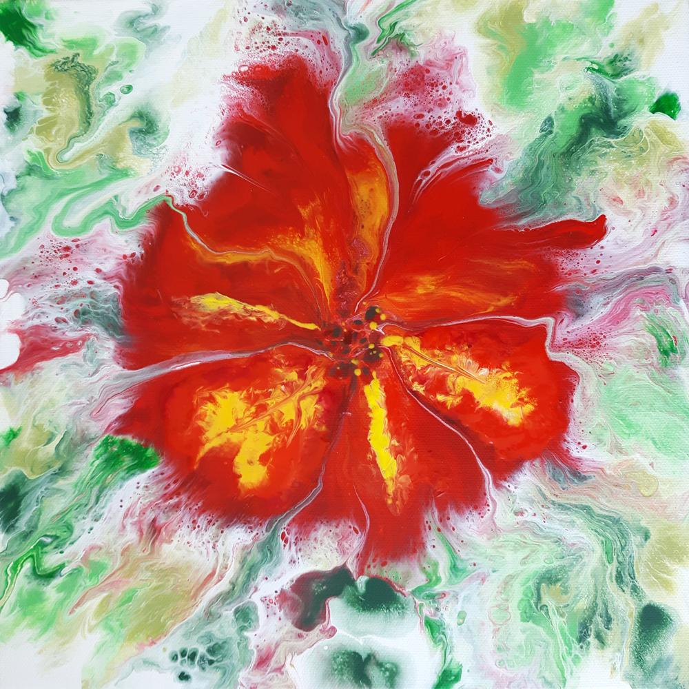 flor abstracta