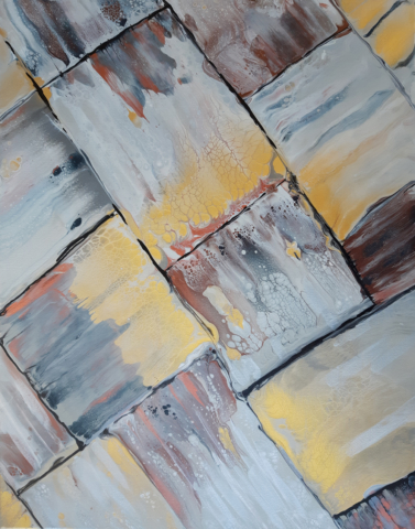 Pintura Acrílica Abstracta Original