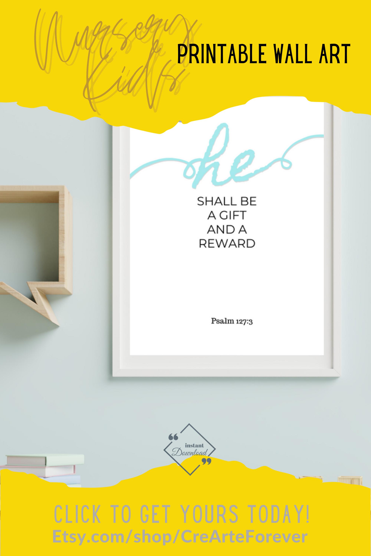 Nursery & Kids Printable Wall Art