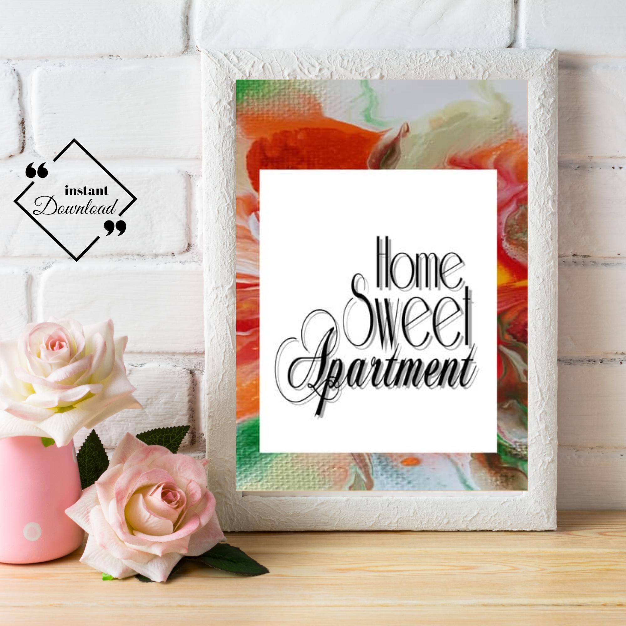 Home Sweet Apartment Printable