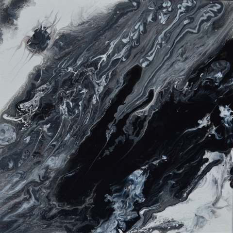 Free 22 | Pintura Acrílica Fluida, Abstracta Y Conceptual