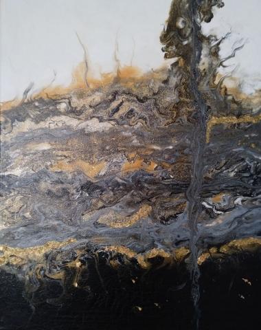 33 MyLove C | Pintura Acrílica Fluida, Abstracta Y Conceptual