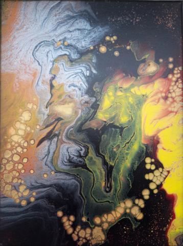 Pintura acrílica original