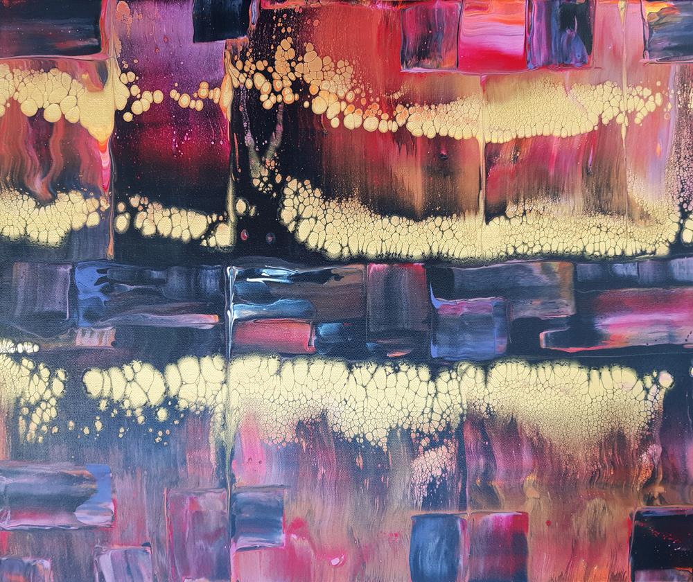 Pintura Acrilica Abstracta Original